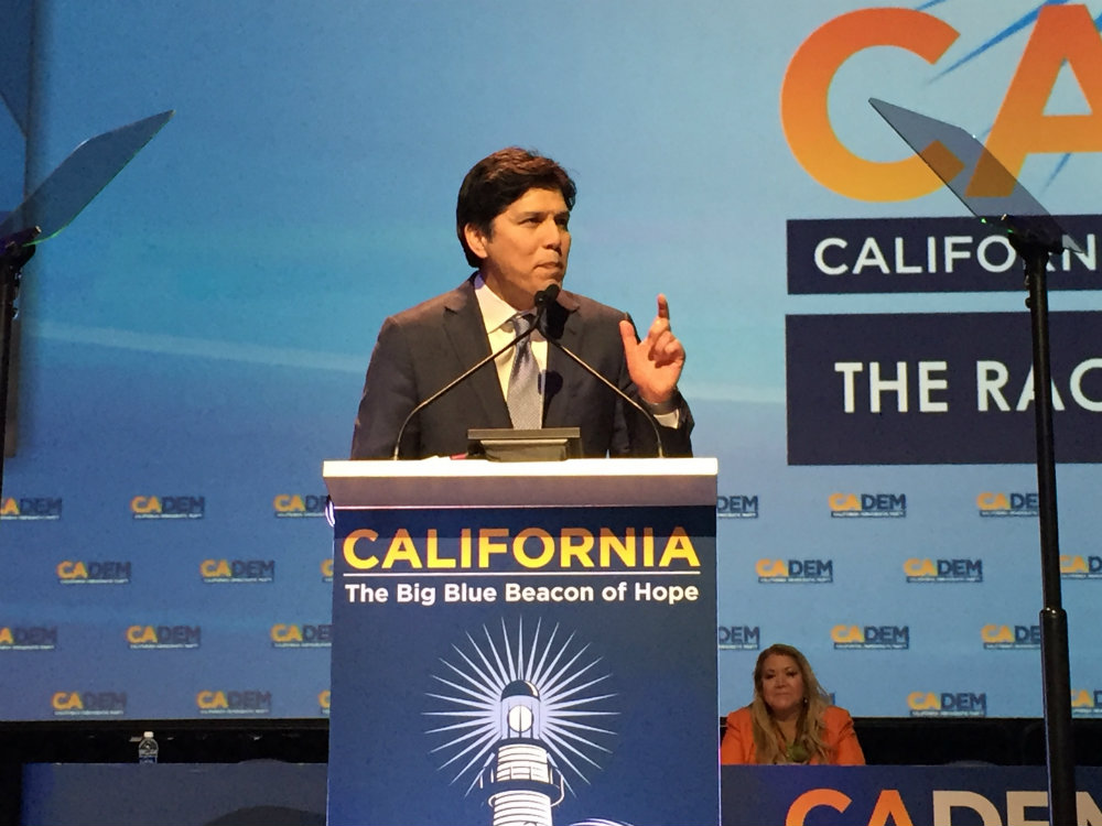 022418 Kevin De Leon California Dem Convention BA P