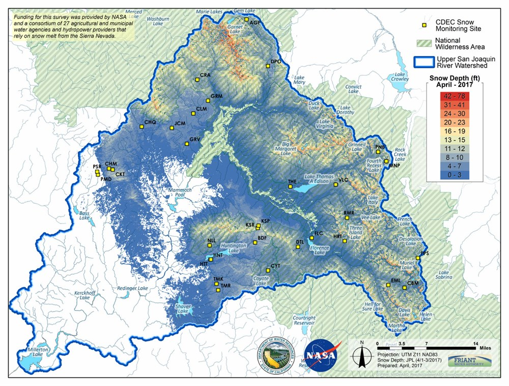 030818Nasa Snow Friant Map