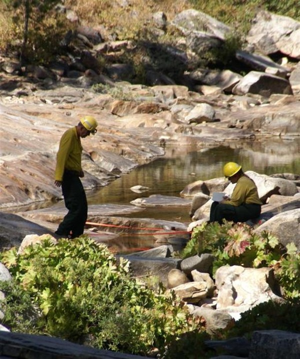 Hydrologists Measure Stream Flow To Protect Fish