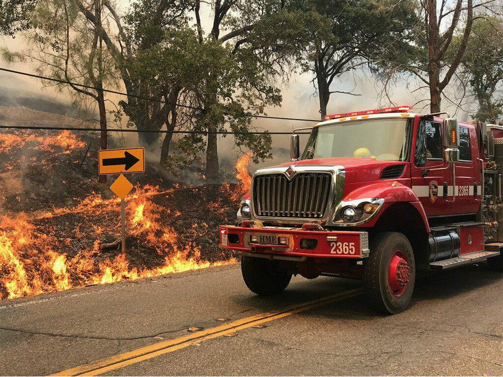Yolo County Fire Grows, But So Does Control Over Flames - capradio.org