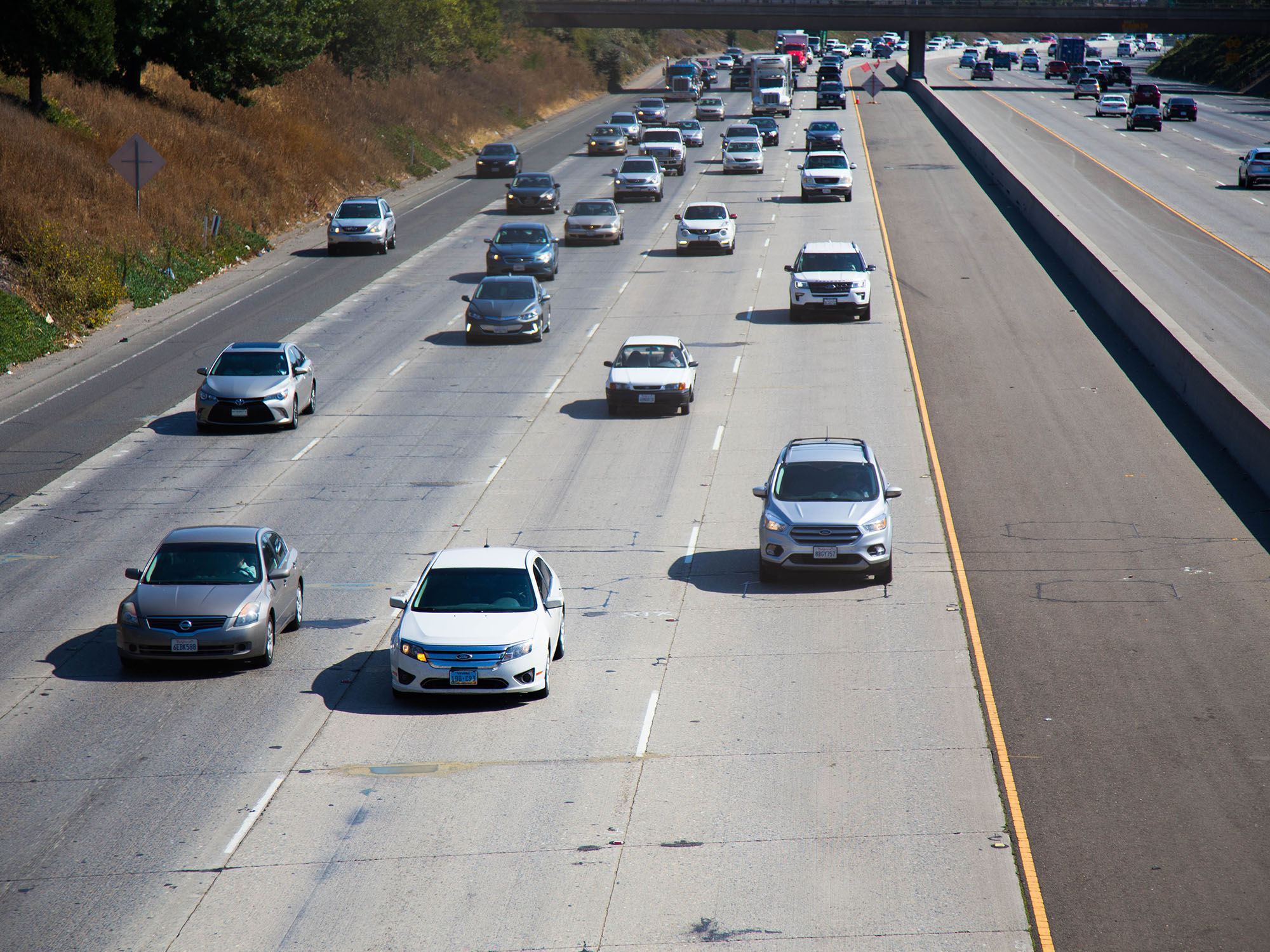 More Than 200,000 Clean Cars Will Lose California HOV Access In 2019 Carpool Lane Map Los Angeles on
