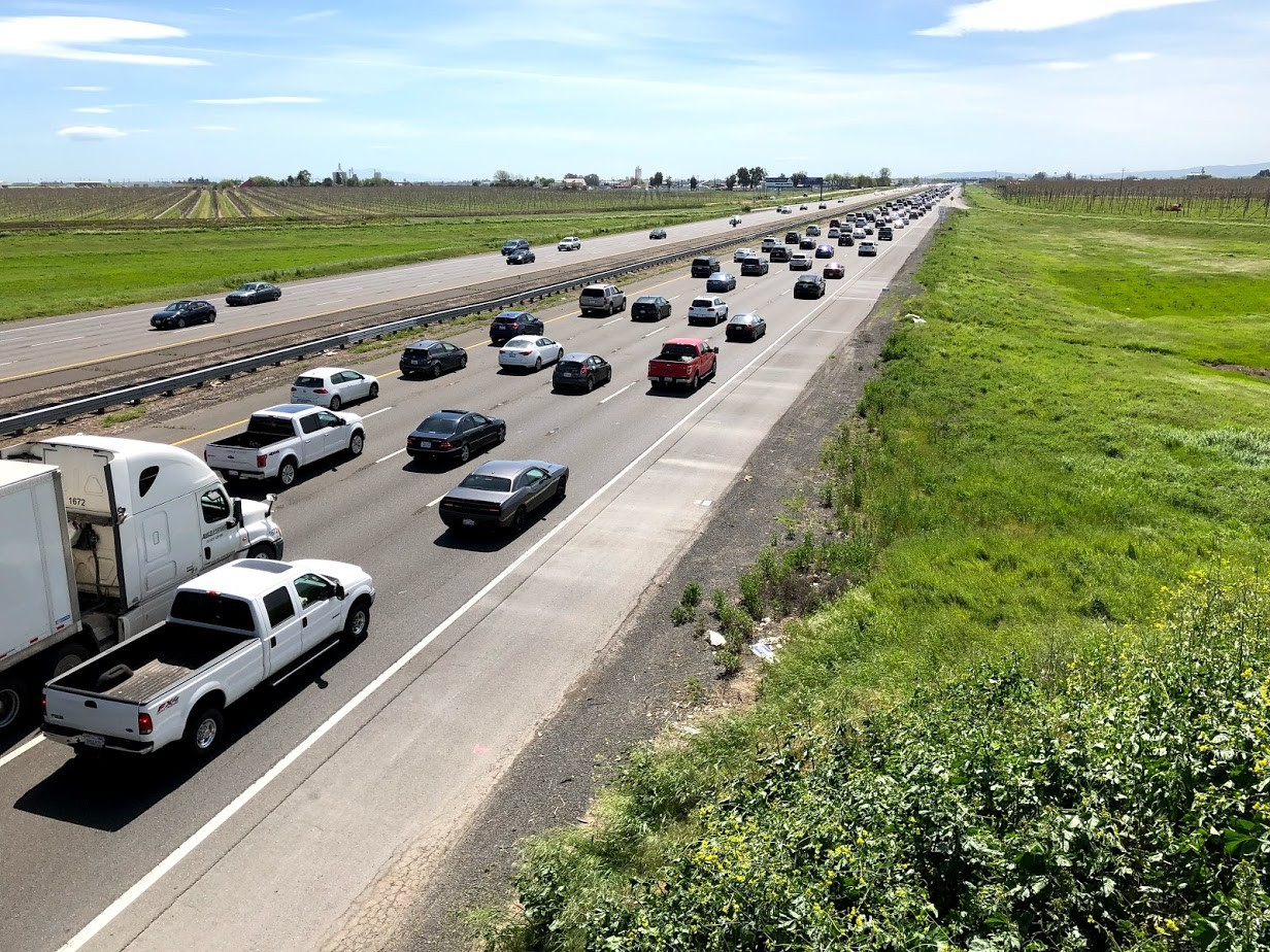 What Causes The 'Phantom' Traffic Jams On Interstate 80 Near