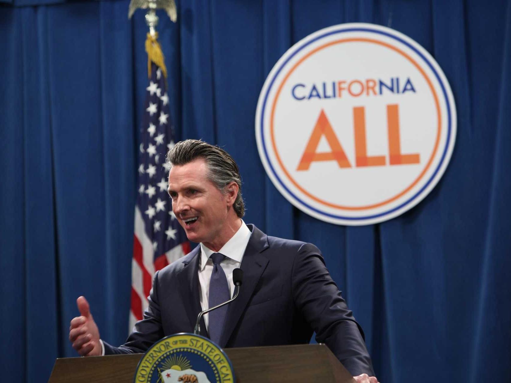 California Gov. Gavin Newsom Proposes $213 Billion Budget ...