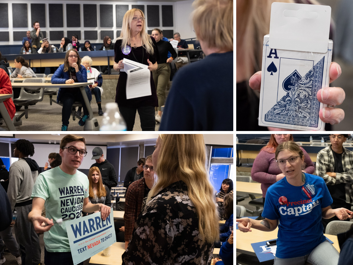 Take A Look: Reno Democrats Turn Out For 2020 Nevada Caucuses