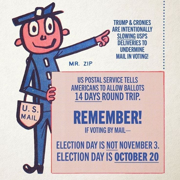 How Early Should You Send In Your Mail In Ballot To Make Sure It Gets Counted The Answer Varies By State Capradio Org