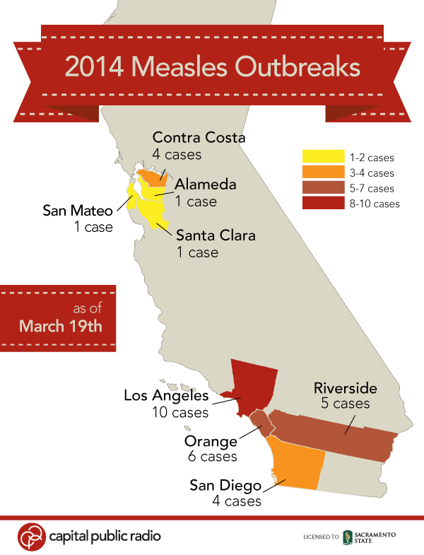 Measels Outbreaks 2014
