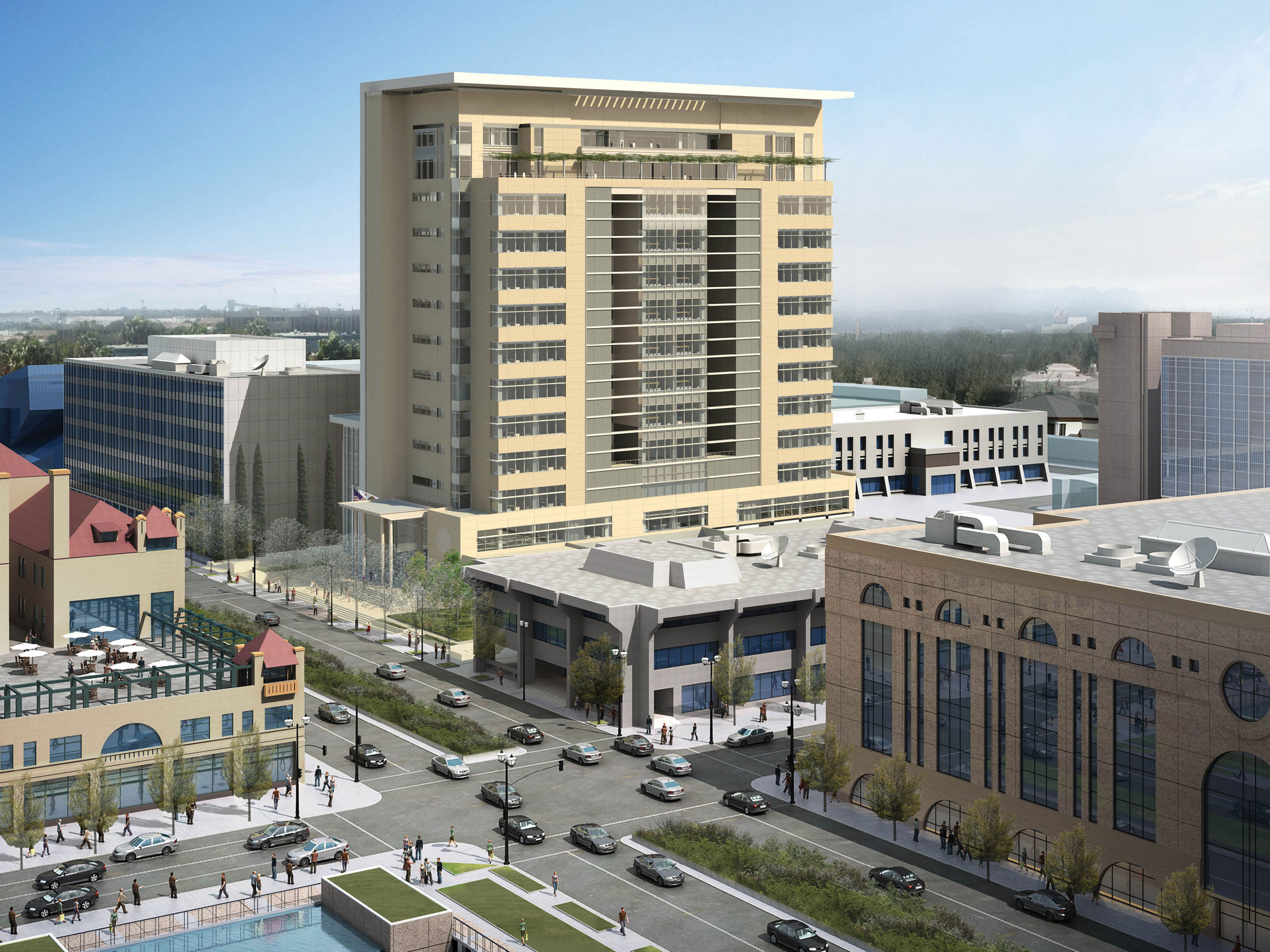 New County Courthouse Will Transform Downtown Stockton