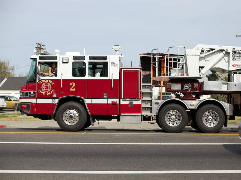 Stockton considers putting advertisement on city fire for Dept of motor vehicles sacramento ca