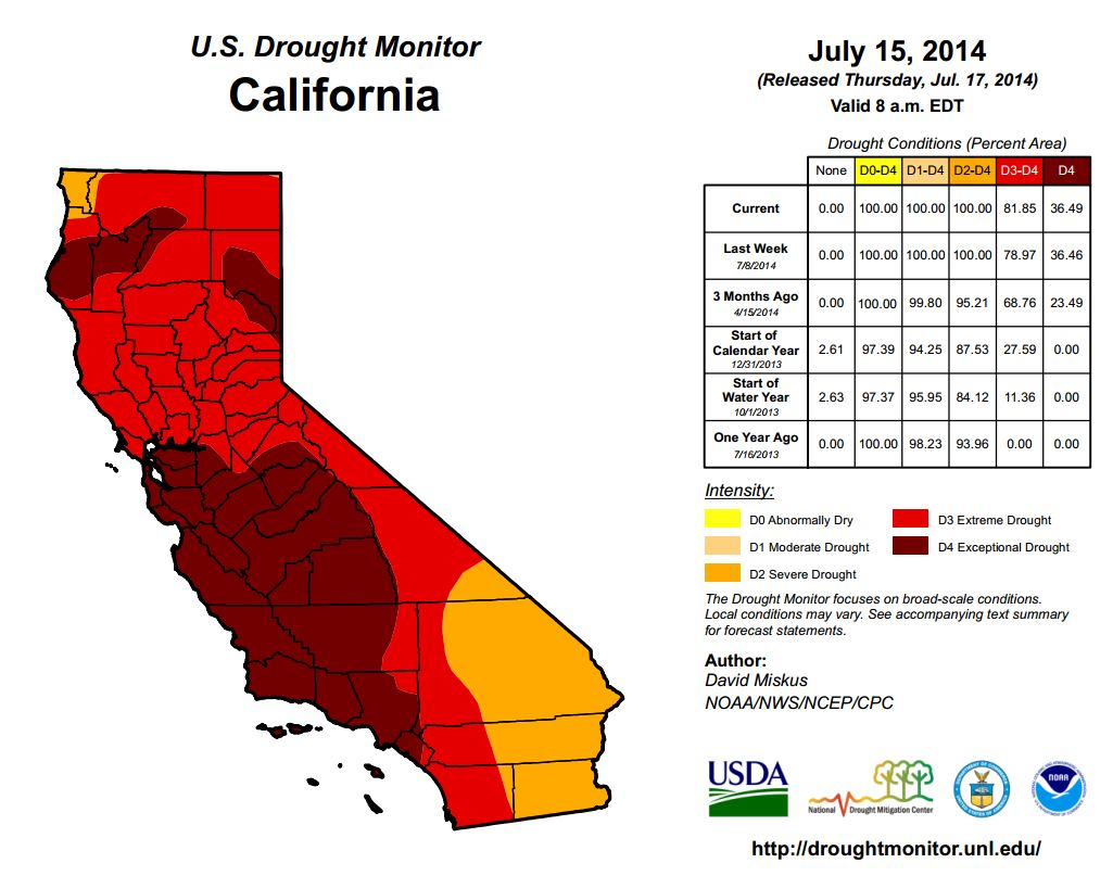 0717 Us Drought Ca P