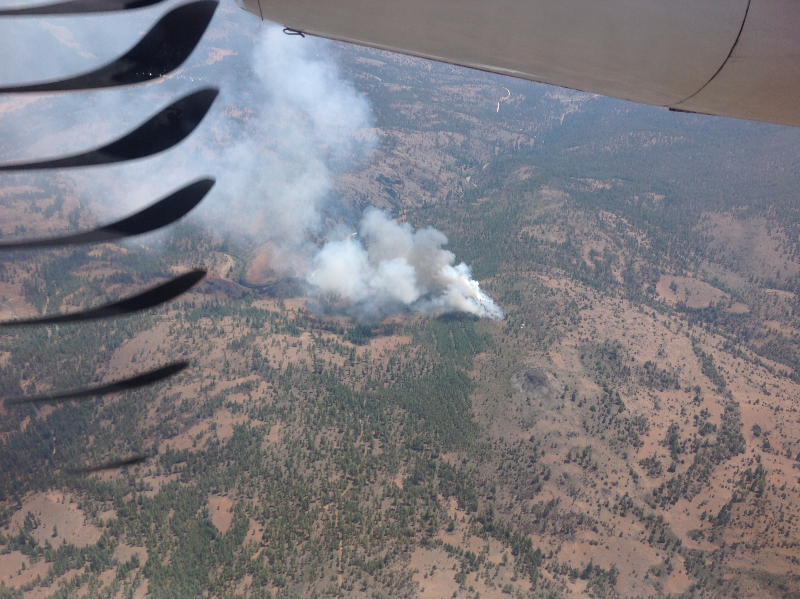 plumas national forest fire crews busy with lightning