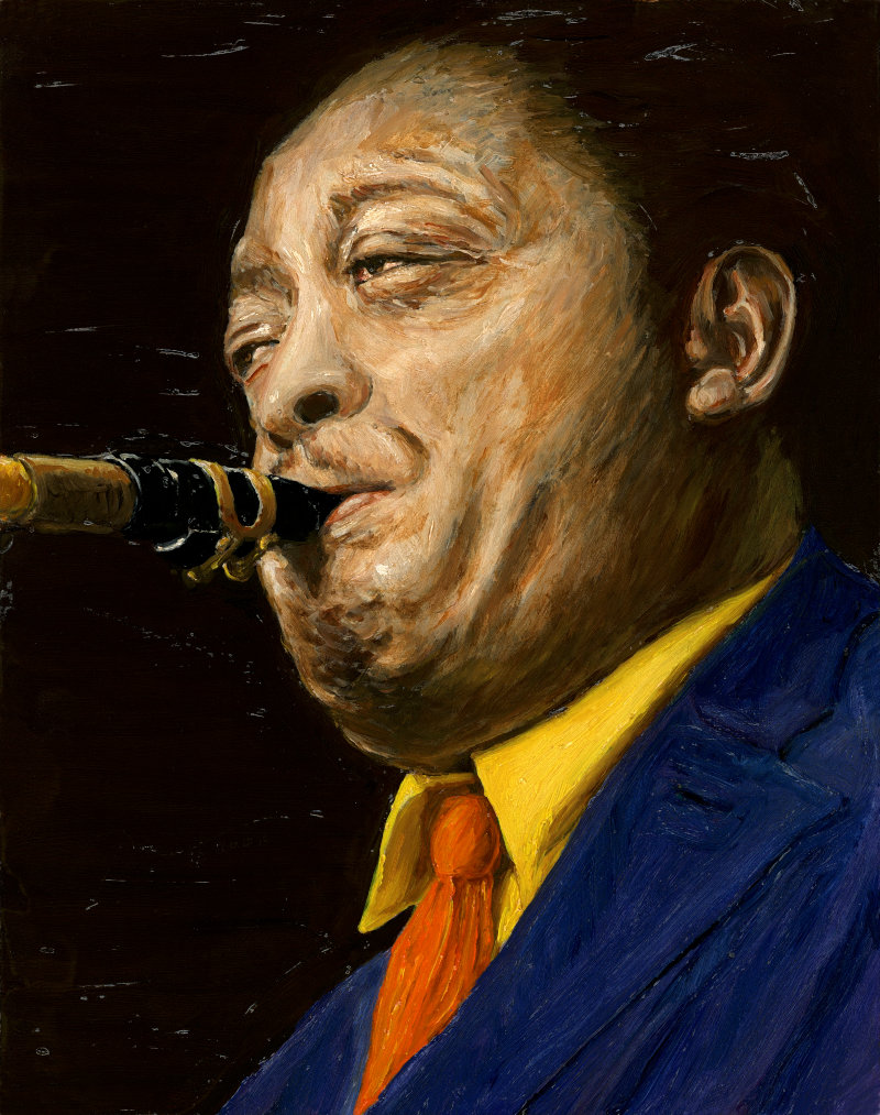 Lester Young By Rudy Browne