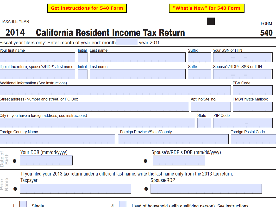 California tax stock options