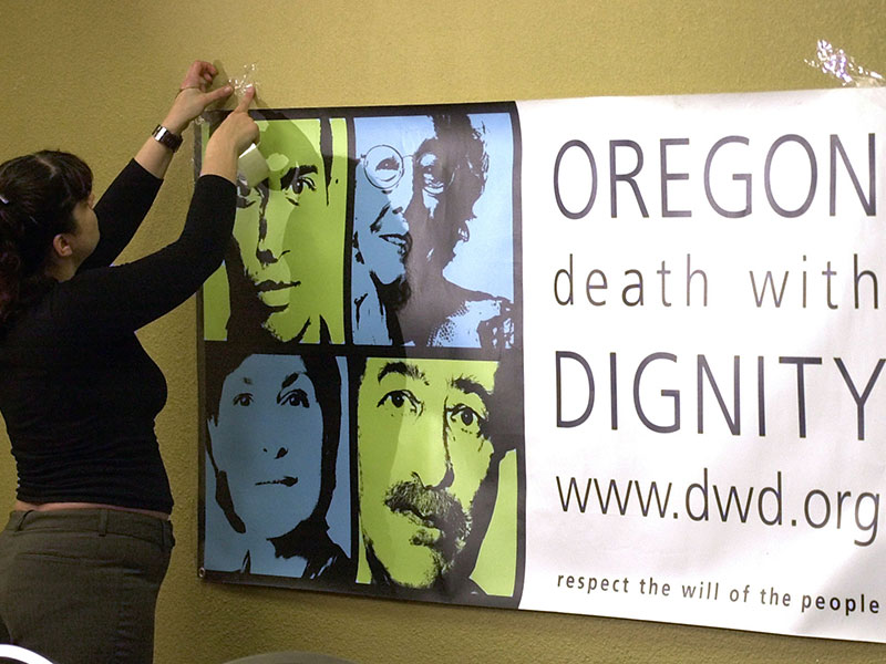 a review of the death with dignity act of oregon Death with dignity legislation has become of increasing public interest and concern currently five (5) states have legislation allowing physician aid in dying - oregon, washington, montana, vermont and california.