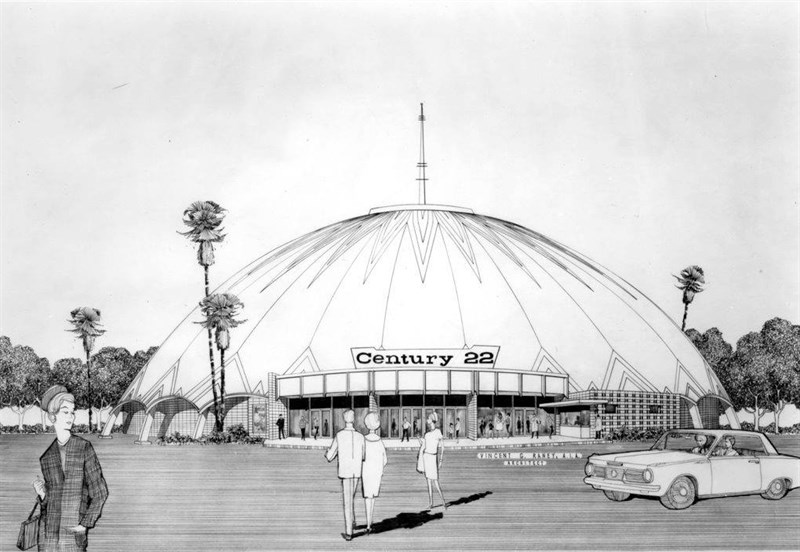 Space Age Architecture Lovers Mourn The Loss Of Century Theatre Dome Capradio Org