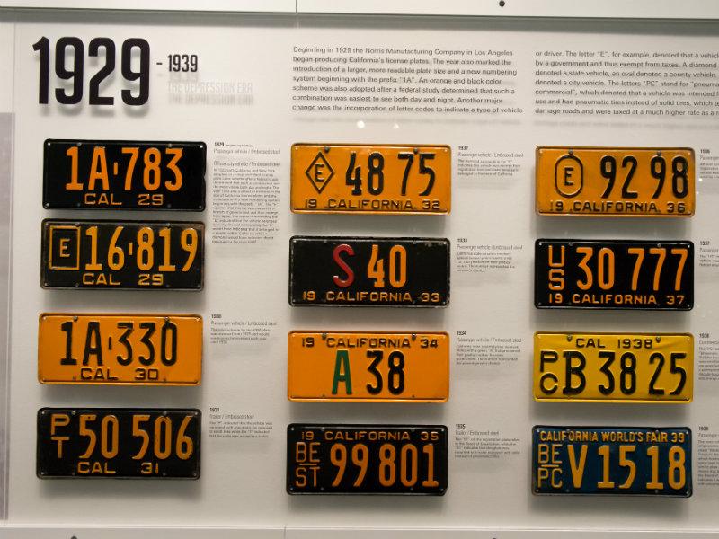 California License Plate History >> California Reissues Classic Black License Plates Capradio Org