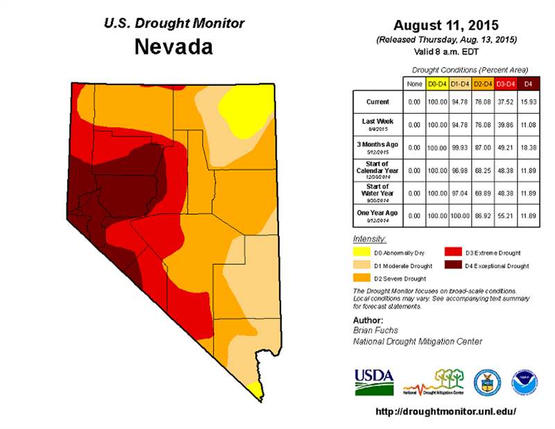 0813 Nevada Drought