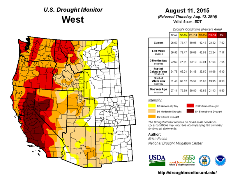 0813 West Drought