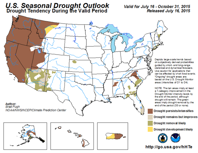 0813 Seasonal Drought Outlook