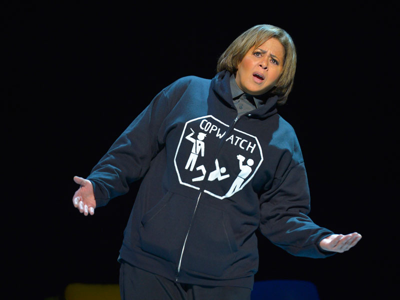 One Woman Show Highlights School To Prison Pipeline In California