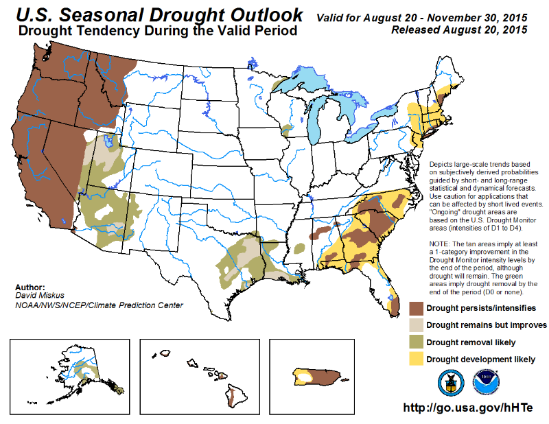 082015  Seasonal Drought