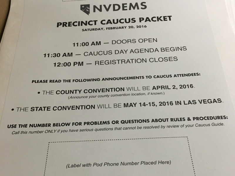 NVCaucus Packet