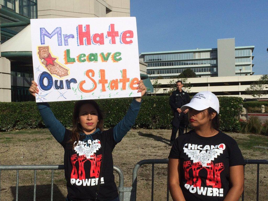 California Gop Convention Wrap Up Tendencies Tshirt Wailers Orange L