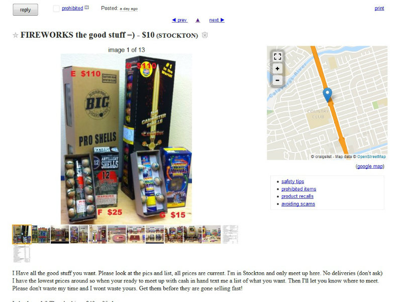 Safe And Sane Manufacturer: Why Are Illegal Fireworks Available