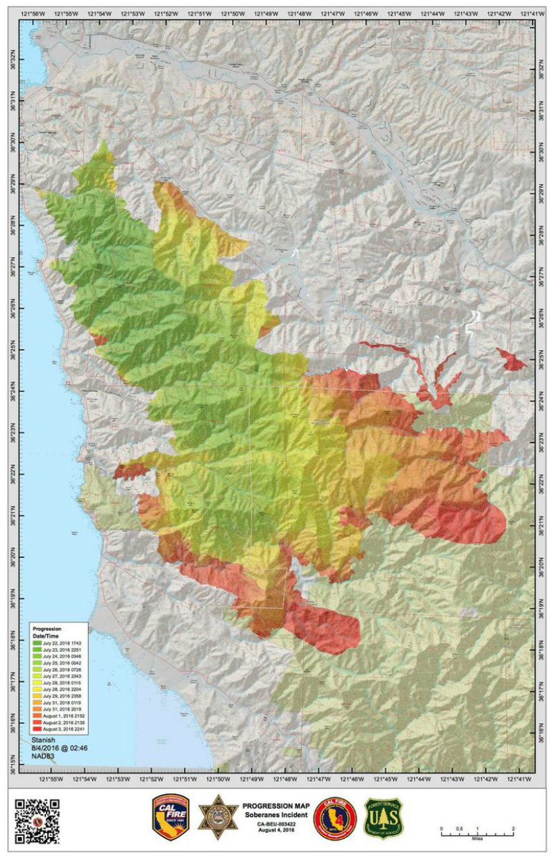 Soberanes Fire Conundrum For Fire Managers Capradio Org