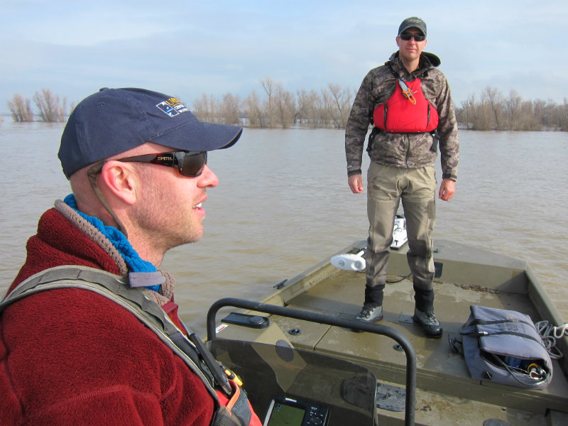 Yolo Bypass Scientists