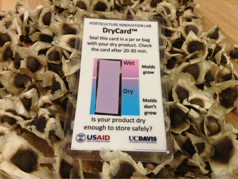 Small Card Designed By UC Davis Scientists Can Reduce Big Food ...
