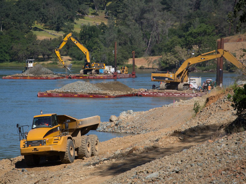 Oroville Spillway Repair Project Moves Into Heavy-Construction Phase