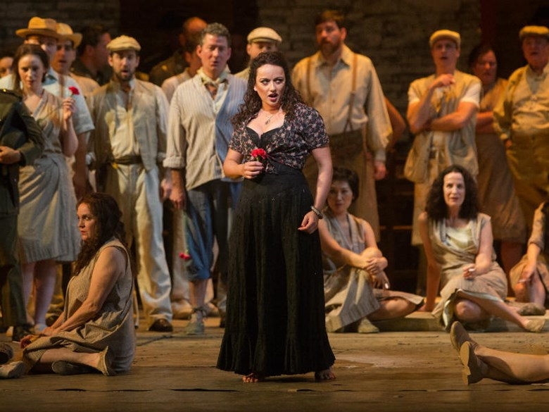 "Clémentine Margaine as ""Carmen"" 