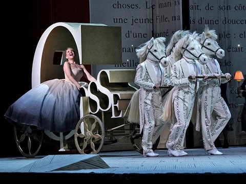 Joyce DiDonato in the title role of Massenet's Cendrillon. Photo: Ken Howard/Met Opera