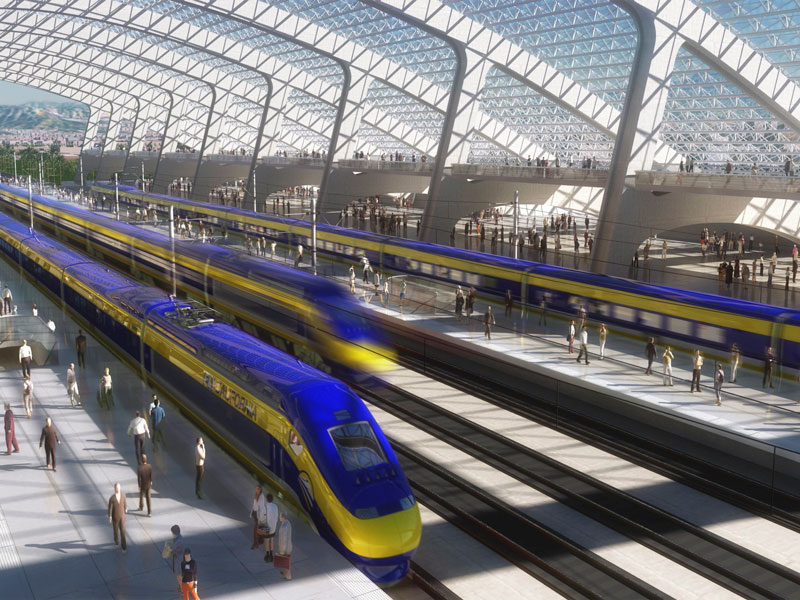 California High Speed Rail Authority / File / AP