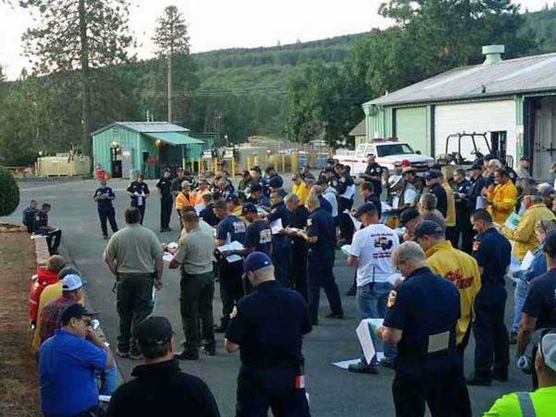 Cal Fire Updates Facebook