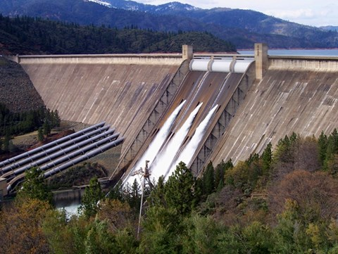 Shasta Dam / US Bureau of Reclamation