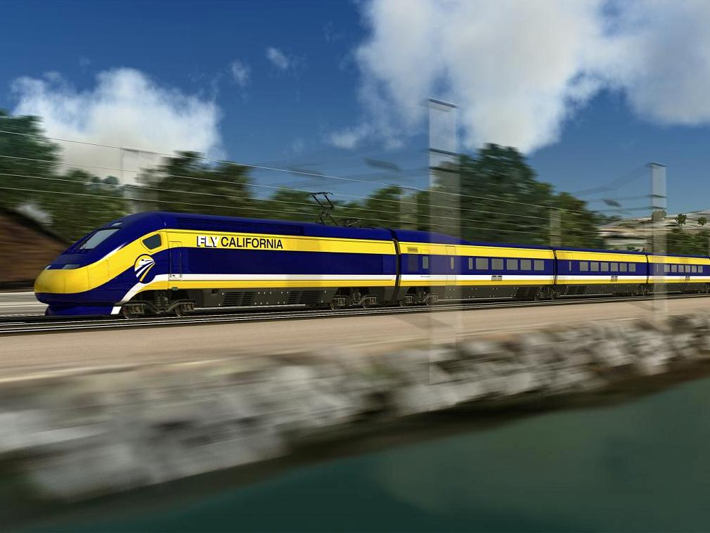 CA High-Speed Rail Authority photo