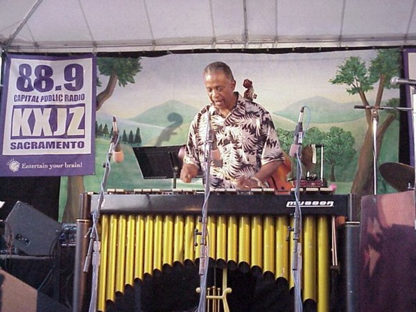 Bobby Hutcherson performing in Old Sacramento in the early 2000's
