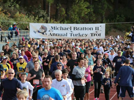 Courtesy of Michael Bratton II Turkey Trot