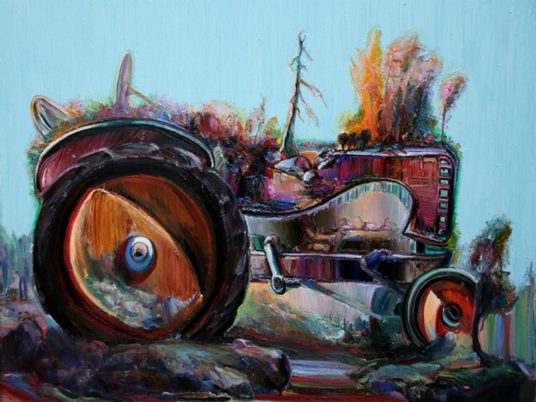 """Tractor Landscape"" by Jeff Myers / Courtesy"