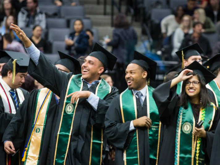 Sacramento State University's Winter Commencement 2017 / Sacramento State Facebook page