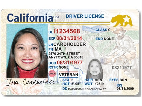 California Department of Motor Vehicles / Courtesy